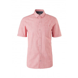 Regular Fit: chemise à manches courtes by s.Oliver Red Label