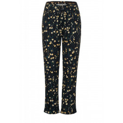 Loose fit trousers in paperbag by Street One