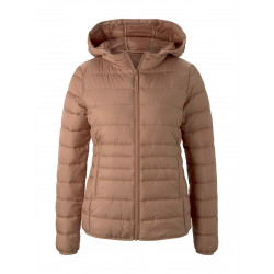 Lightweight quilted jacket with hood by Tom Tailor Denim