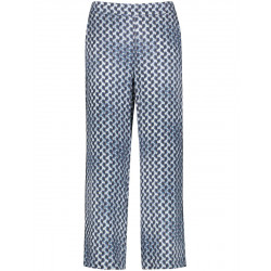 Pants with all-over pattern by Gerry Weber Collection