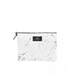 Cosmetic bag WHITE MARBLE by WOUF