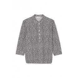 Bluse mit Allovermuster by Marc O'Polo