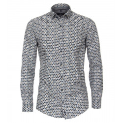 Casual Fit: chemise à manches longues by Casamoda