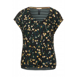 Print mix blouse by Street One
