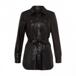 Chemise en cuir synthétique by More & More