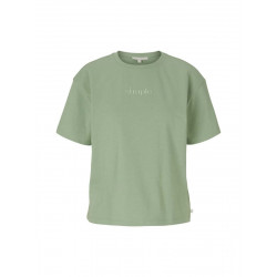 Cropped t-shirt by Tom Tailor Denim