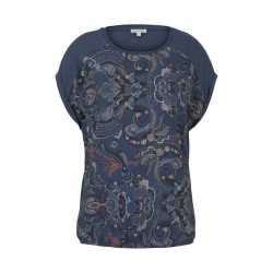 Patterned t-shirt by Tom Tailor