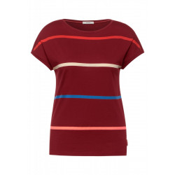 T-shirt with stripes by Cecil
