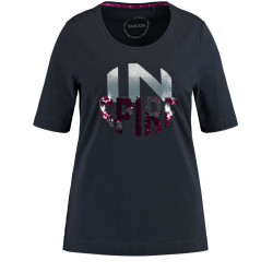 T-shirt with print by Samoon