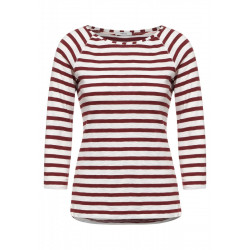 T-shirt with stripes pattern by Cecil