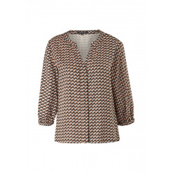 Twill blouse by Comma