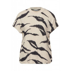Printed shirt by Street One