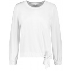 Long-sleeved shirt with knot detail by Gerry Weber Casual
