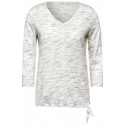 Shirt with 3/4 sleeves by Cecil