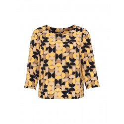 Print blouse FALESHA CHEERFUL by Opus