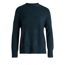 Knitted sweater with side slits by Cartoon