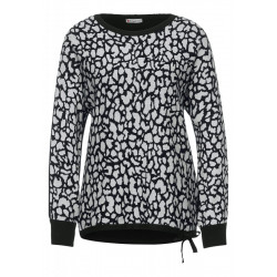 Jacquard Strick Pullover by Street One