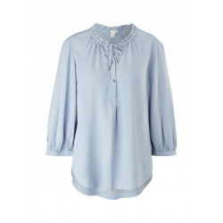 Blouse with a ruffled collar by Q/S designed by