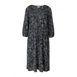Viscose dress in a loose fit by s.Oliver Red Label