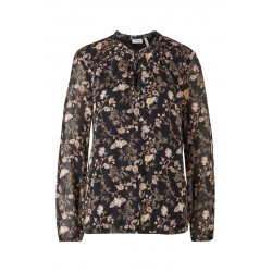 Tunic blouse with a floral pattern by s.Oliver Black Label