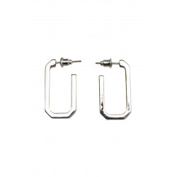 Metal look earrings by s.Oliver Red Label