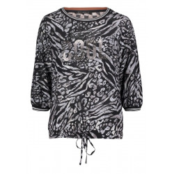 Animal print blouse by Betty Barclay