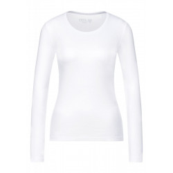 Basic Shirt in Unifarbe by Cecil