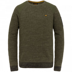 Knitted jumper with logo by PME Legend