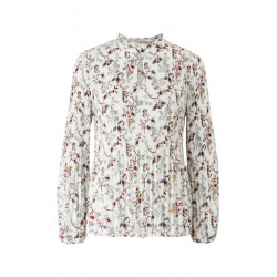 Pleated blouse by s.Oliver Black Label