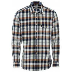 Regular fit: checked shirt by Camel