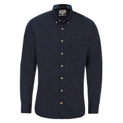 Regular fit: printed shirt by Camel