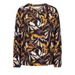 Printed long sleeve blouse by Betty Barclay