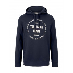 Hoody with print by Tom Tailor Denim