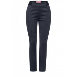 Slim Fit Hose in Velours by Street One