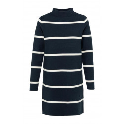 Knitted dress with stripes by Yaya