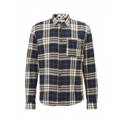Loose Fit: long sleeve shirt by Tom Tailor Denim