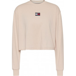 Long sleeve shirt with logo by Tommy Jeans