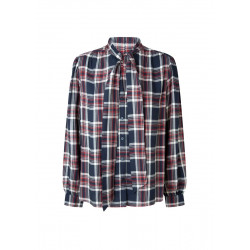 Checkered blouse by Pepe Jeans London