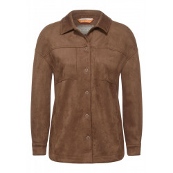 Velour Overshirt by Cecil