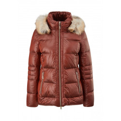 Down quilted jacket by Comma