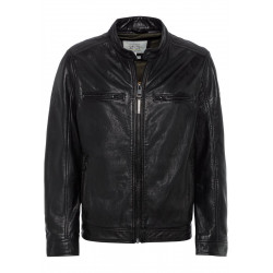 Leather jacket by Camel