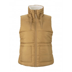 Reversible teddy quilted vest by Tom Tailor Denim