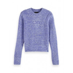 Loose fit crewneck pullover by Scotch & Soda