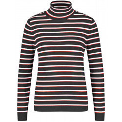 Striped turtleneck by Gerry Weber Casual
