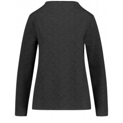 Long-sleeved shirt with structure by Gerry Weber Casual