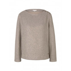 Ribbed sweatshirt by Tom Tailor