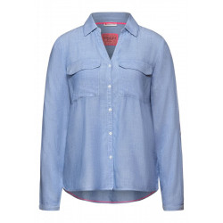 Shirt blouse in chambray by Street One