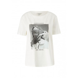 T-shirt with photo print by comma CI