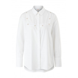 Shirt blouse with decorative buttons by s.Oliver Red Label