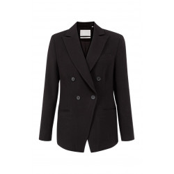 Fitted double breasted blazer by Yaya
